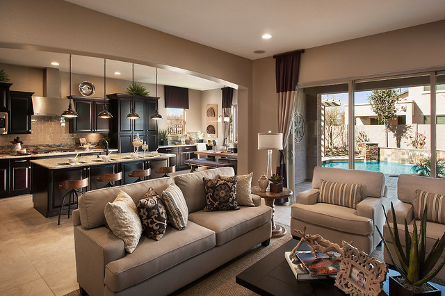 Maracay Homes Family Room Contemporary with Categoryfamily Roomstylecontemporarylocationphoenix