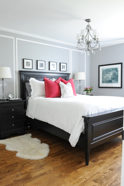 Matted Picture Frames Bedroom Traditional with Bedroom Black and White