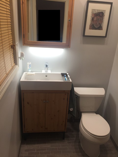 Medicine Cabinets Ikea Bathroom Transitional with Ikea Lillangen Silvern