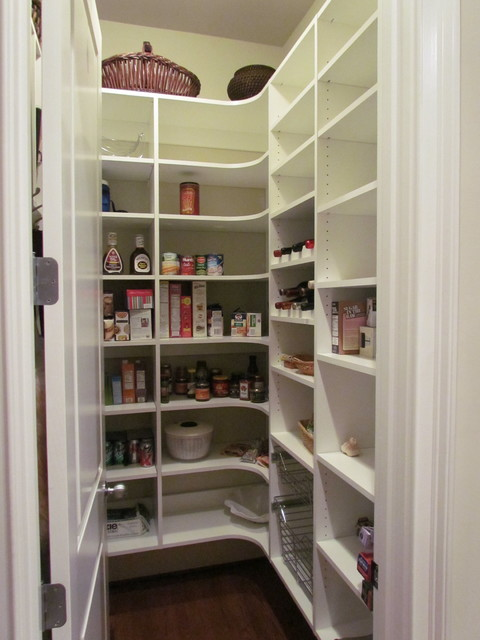 Melamine Shelving Kitchen Traditional with Atlanta Closet Pantry Pantry