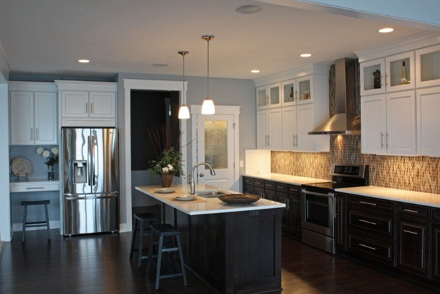 Mid Continent Cabinetry Kitchen Contemporary with Categorykitchenstylecontemporarylocationgrand Rapids