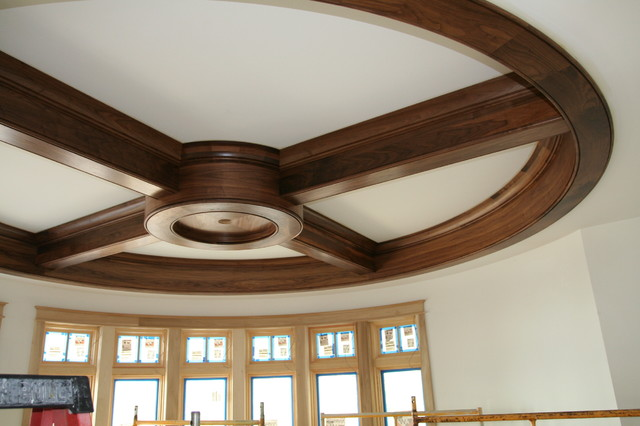 Milliken Millwork Living Room Contemporary with Ceiling Design Circular Ceiling