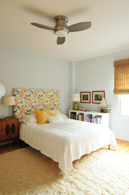 Minka Aire Bedroom Eclectic with Ceiling Fan with Light