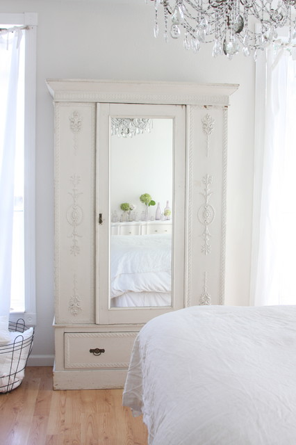 Mirrored Armoire Bedroom Shabby Chic with Armoire Ceiling Lighting Chandelier
