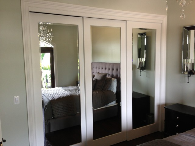 Mirrored Closet Doors Bedroom Contemporary with Bedroom Furniture Bifold Bifold