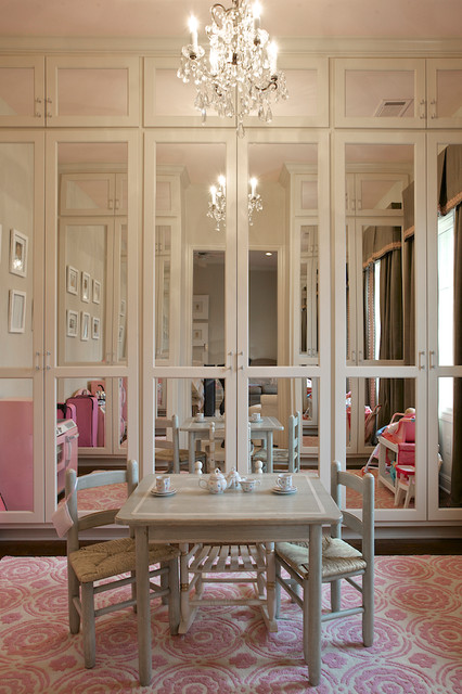 Mirrored Closet Doors Kids Traditional with Built Ins Chandelier Closet Doors