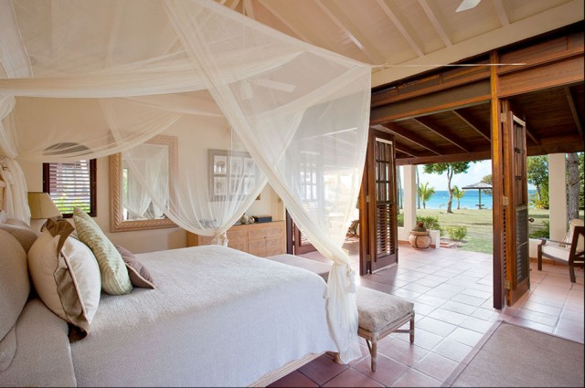 Mosquito Net Canopy Bedroom Tropical with Canopy Bed Ocean View