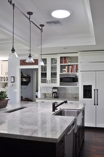 Msi Granite Kitchen Traditional with Apron Sink Cabinet Front