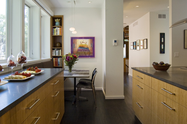 Narrow Bookshelf Kitchen Contemporary with Bookcase Bookshelves Breakfast Nook