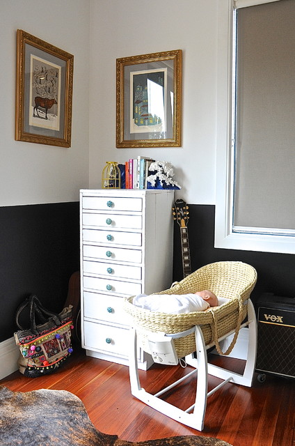 Narrow Chest of Drawers Kids Eclectic with Baby Bassinet My Houzz