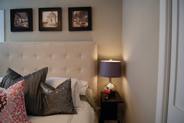 Narrow Nightstand Bedroom Contemporary with Categorybedroomstylecontemporarylocationchicago