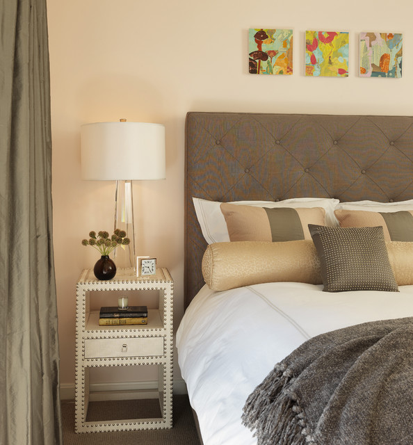 Narrow Nightstand Bedroom Contemporary with Alarm Clock Bedside Table