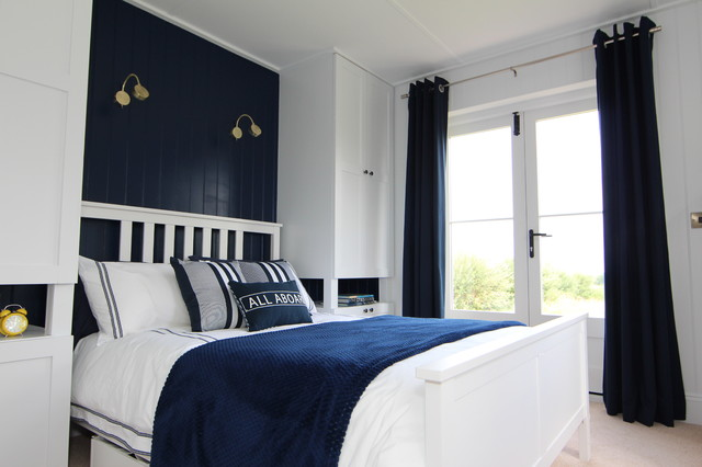 Navy Blue Duvet Cover Bedroom Traditional with Bedroom Cottage Teenager Boys1