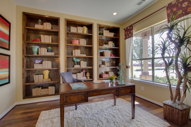 Newmark Homes Home Office Traditional with Contemporary Custom Fixtures Floorplan1
