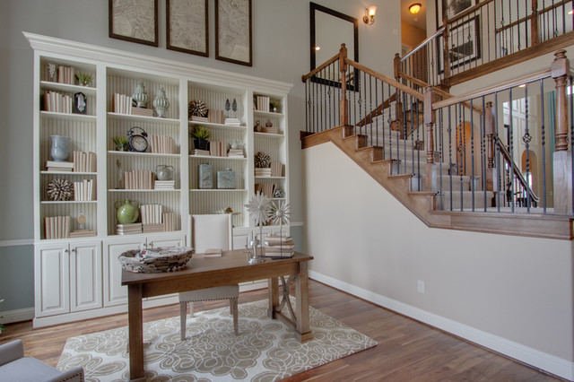 Newmark Homes Home Office Traditional with Contemporary Custom Fixtures Floorplan3