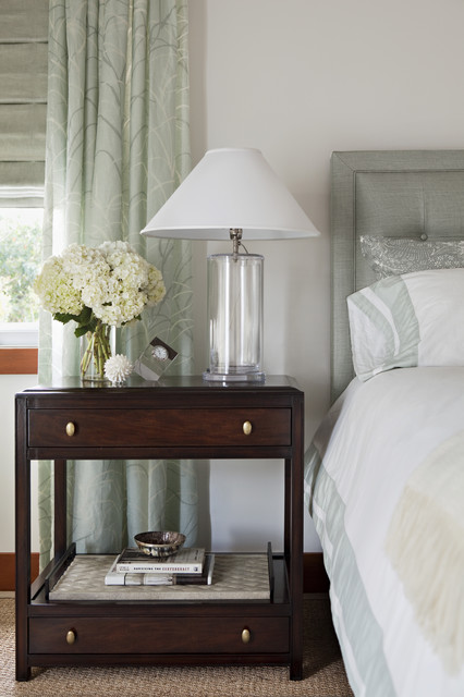Nightstand Lamps Bedroom Transitional with Transitional