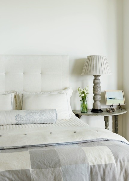 Nightstands Cheap Bedroom Beach with White Upholstered Headboard