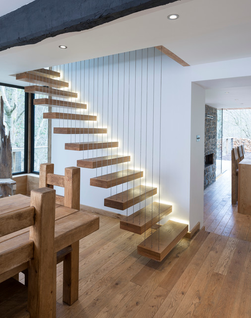 oak stair treads Staircase Contemporary with beautiful staircase beautiful stairs