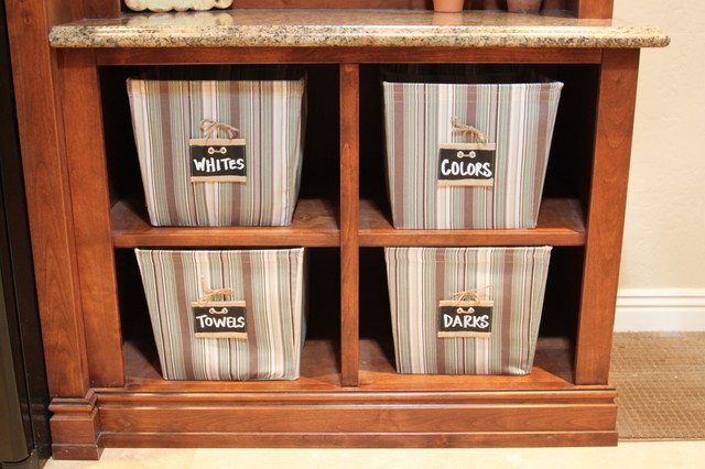 Organizer Bins Laundry Room Traditional with Cubbies Granite Countertops Laundry