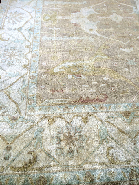 Oushak Rugs Spaces Contemporary with Chinese Antique Box Comfortable