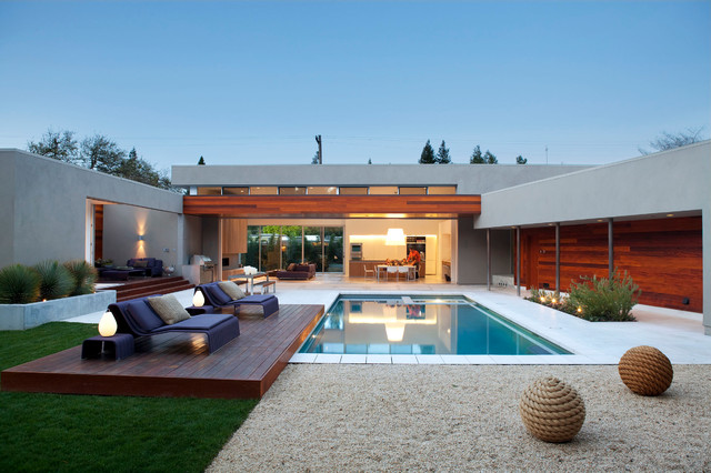 Outdoor Couch Cushions Pool Contemporary with Beautiful Pools Clerestory Windows