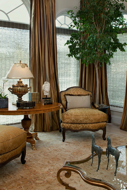 Overstuffed Chair Living Room Traditional with Arched Window Armchair Bust1