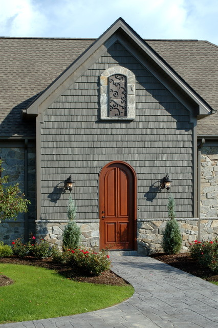 Owens Corning Shingles Entry Eclectic with Entry Front Door Gray