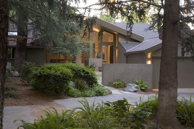 Owens Corning Shingles Exterior Contemporary with Boulders Cedar Tree Eaves