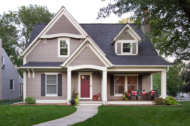 Owens Corning Shingles Exterior Traditional with Beige Exterior Beige Molding