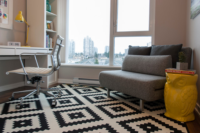 Owl Rug Home Office Contemporary with My Houzz