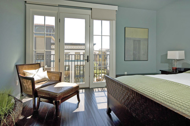 Palladian Blue Bedroom Contemporary With Balcony Bedroom Balcony Blue