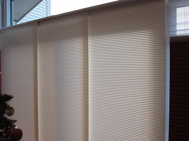 Panel Track Blinds Spaces Modern with Blinds Contemporary Panel Tracks