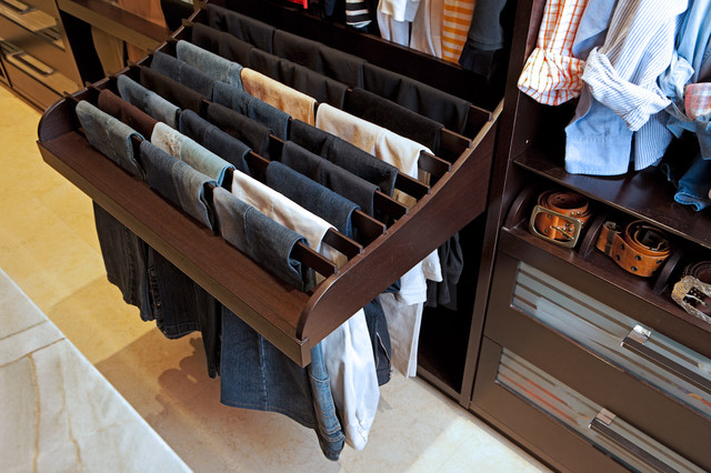 pant hangers Closet Contemporary with CategoryClosetStyleContemporaryLocationLos Angeles