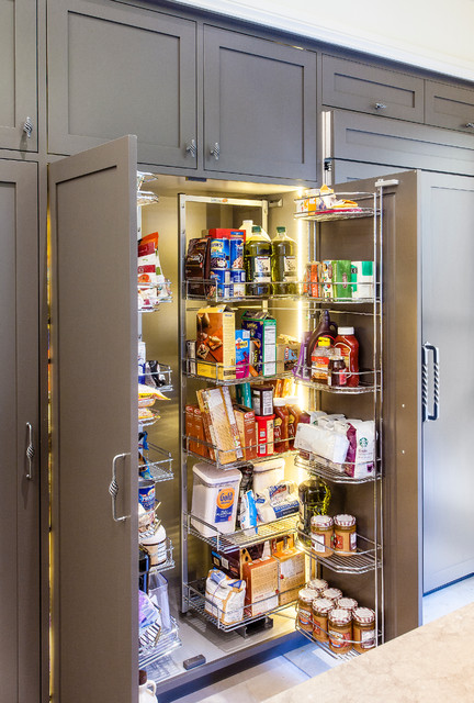 Pantry Shelving Systems Kitchen Transitional with Brown Cabinets Brown Drawers
