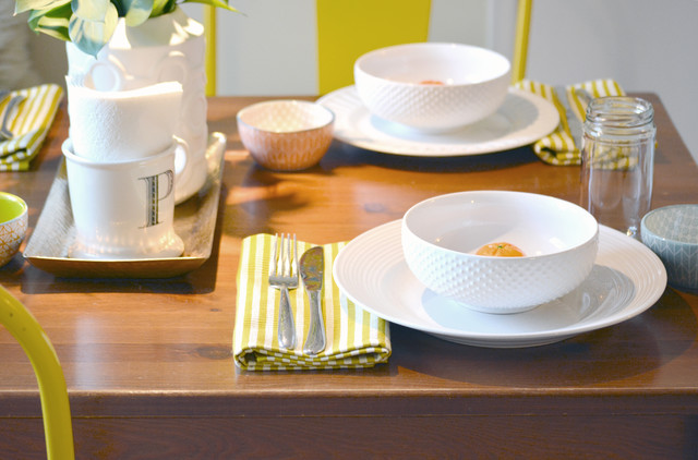 Paper Napkin Rings Dining Room Eclectic with Dining Room Dining Room