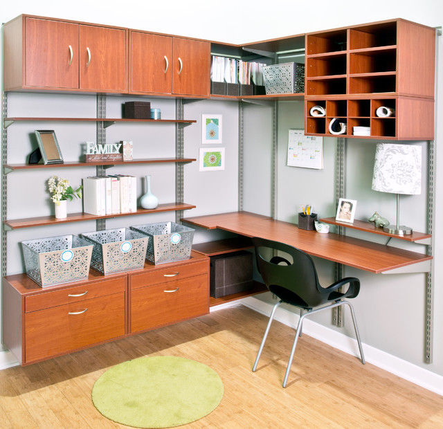 Paper Sorter Home Office Contemporary with Black Chair Green Rug