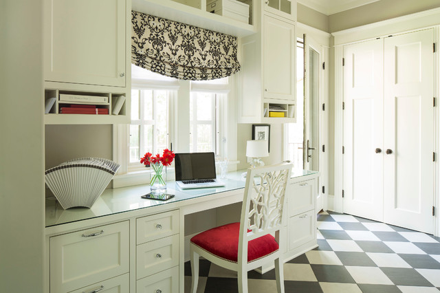 Paper Sorter Home Office Transitional with Black and White Window
