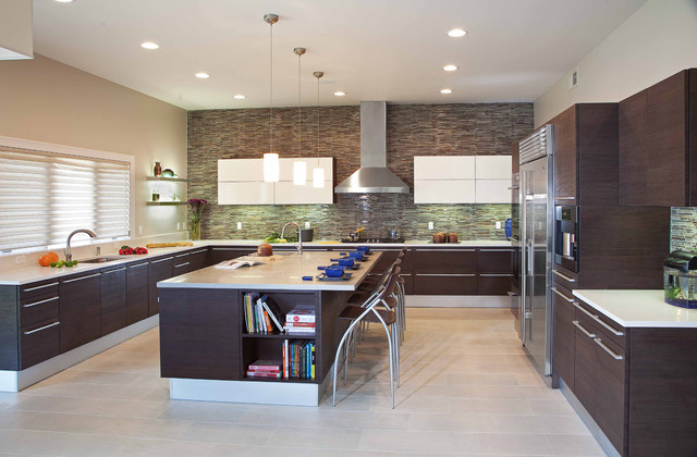 paramus lighting Kitchen Modern with 1st Place Winner aluminum