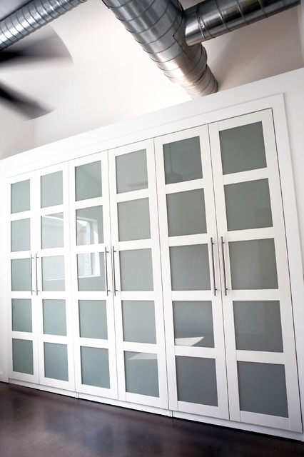 Pax Wardrobe Bedroom Modern with Built in Closet Closet Clothes2