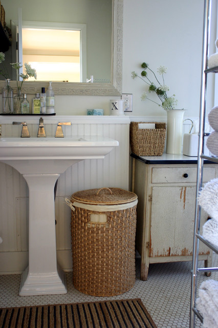 pedestal sink cabinet Bathroom Farmhouse with bathroom shelf bathroom storage
