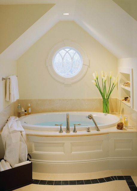 Pella Windows Bathroom Modern with Alcove Alcove Tub Bathroom
