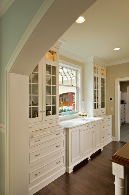 Pella Windows Kitchen Victorian with Butlers Pantry Cabinet Lighting