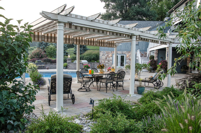 Pergola Canopy Patio Traditional with Backyard Outdoor Dining Outdoor