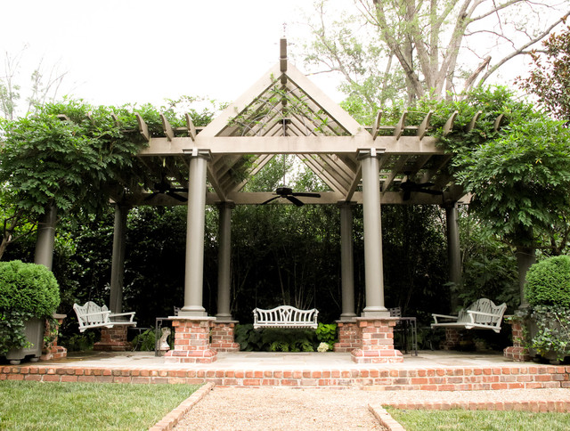 Pergola Plans Landscape Traditional with Arbor Back Yard Bench