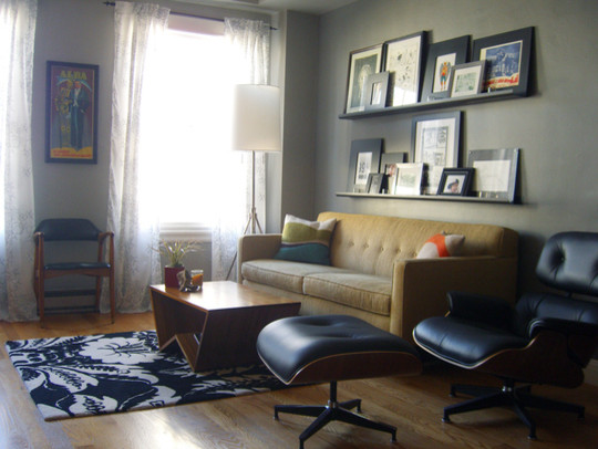 Picture Ledges Living Room Eclectic with Categoryliving Roomstyleeclecticlocationother Metro