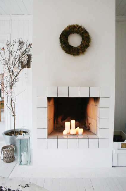 Pillar Candles Living Room Scandinavian with Candles House Plant Lantern