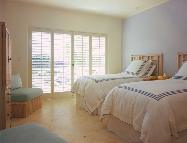 Plantation Shutters Cost Bedroom Tropical with Accent Wall Armoire Bamboo