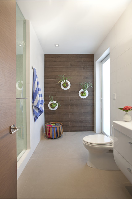 Porcelain Tile That Looks Like Wood Bathroom Modern with Architecture Contemporary Contemporary Designers