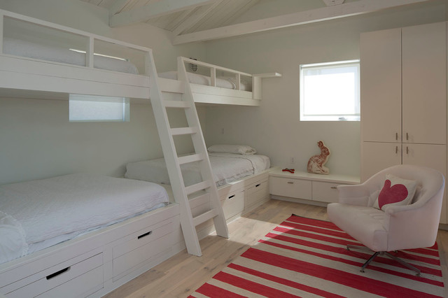 Pottery Barn Bunk Beds Bedroom Contemporary with Bunk Bed Room Bunk
