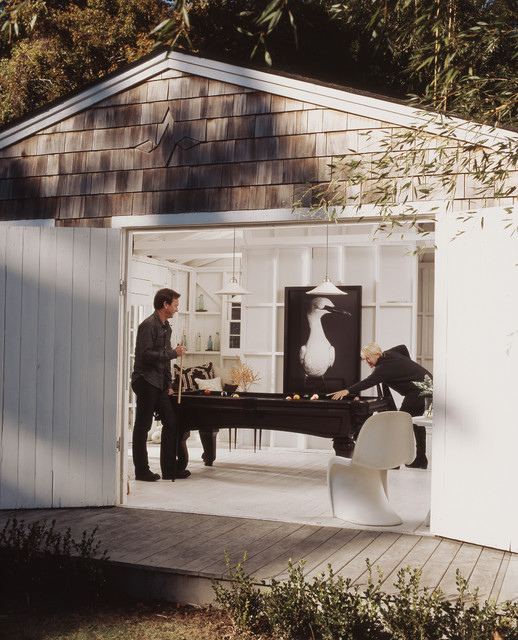 Prefab Sheds Garage and Shed Beach with Barn Doors Black And